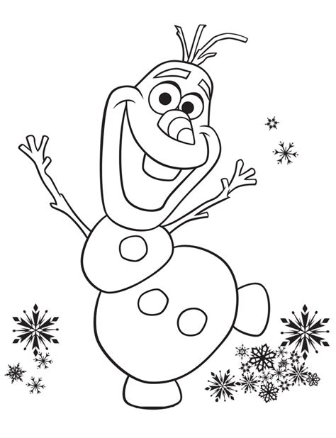 Frozen Olaf Coloring Page Disney Frozen Coloring Pages To