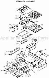30 Wolf Stove Parts Diagram