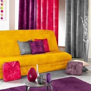Housse De Clic Clac But : housse de clic clac opak jaune orang housse de clic ~ Dallasstarsshop.com Idées de Décoration