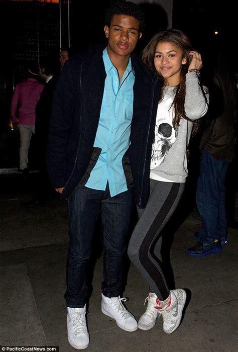 zendaya trevor jackson coleman parents actor stars dating dancing eureka music friend she dine steakhouse stoermer shake wiki dailyentertainmentnews described