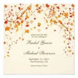Free Save the Date Templates fall colors Bing Images