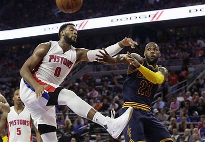 Andre Drummond Pistons James Lebron Cavaliers Cavs