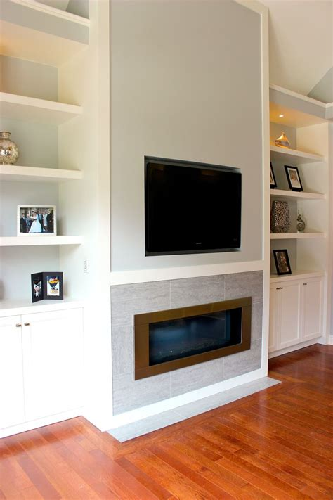 gas fireplace with built in cabinets white living room wall unit with built in television and
