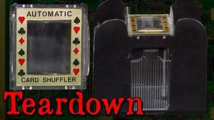 Dirty Automatic Card Shuffler Teardown