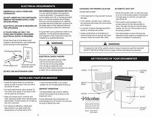 Download Kenmore Dehumidifier 251 50701 Manual And User