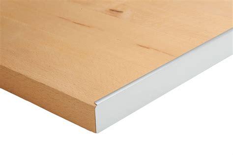 finition plan de travail cuisine nordlinger pro profil aluminium pour plan de travail
