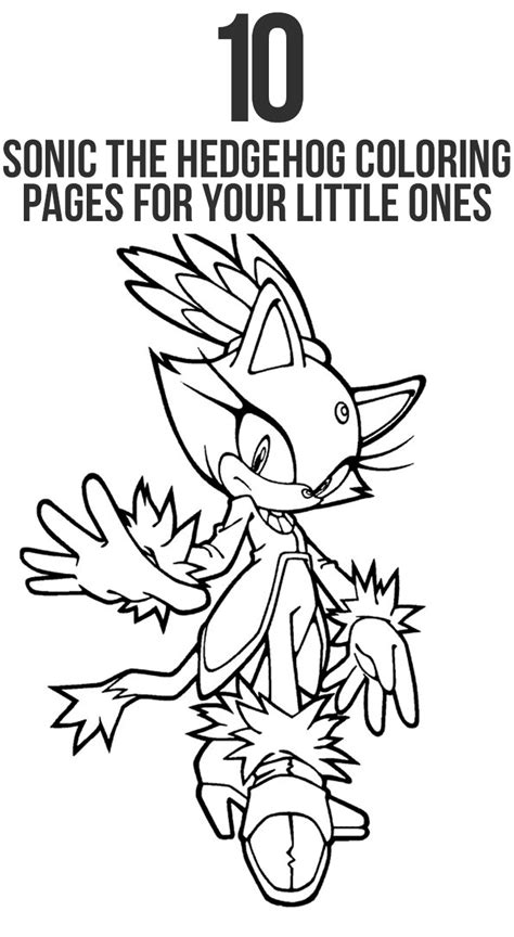 sonic  hedgehog coloring pages  printable