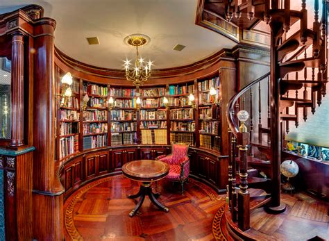 Building A Custom Home Library  Scott Hall Remodeling