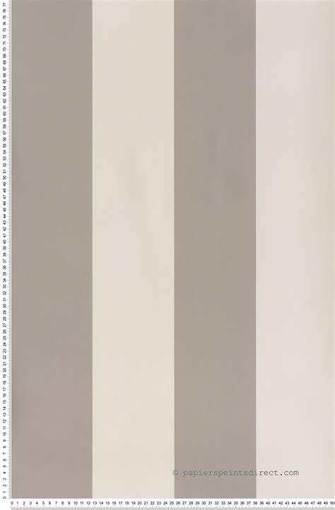 papier peint larges rayures gris moye papier peint