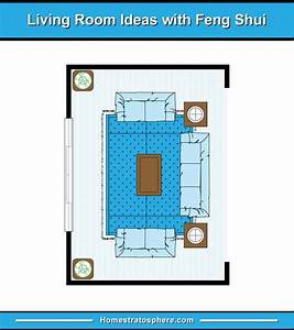81 Feng Shui Living Room Rules  Colors And 12 Layout Diagrams