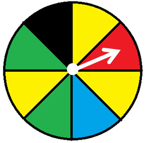 Probability Spinner