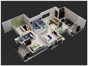 3d interior views joy studio design gallery best design for 3 bhk interior ideas
