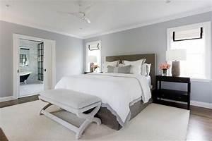 Restful, Gray, Bedroom, Boasts, A, Gray