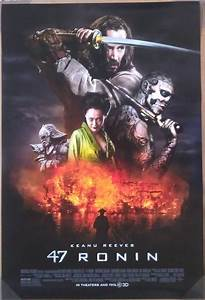 47 RONIN MOVIE POSTER 2 Sided ORIGINAL FINAL 27x40 KEANU ...