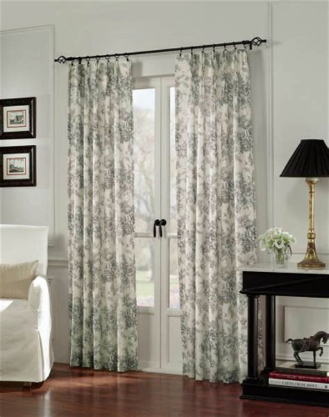 french door curtain ideas   home