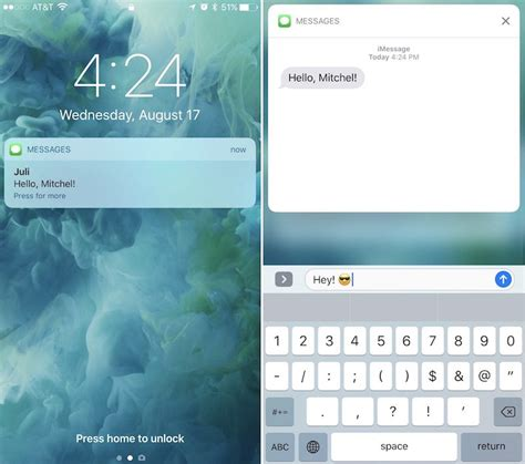 to lock messages on iphone how to use ios 10 s redesigned lock screen mac rumors