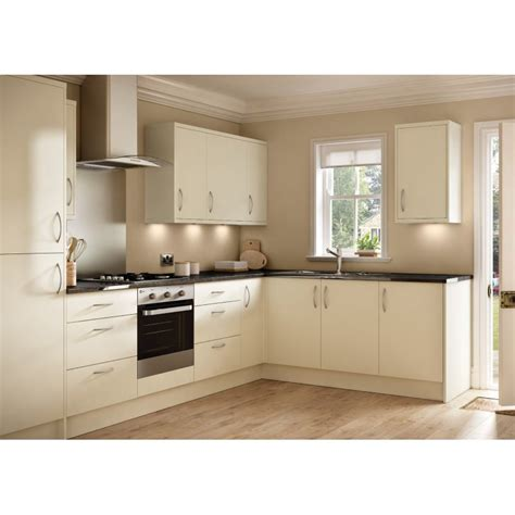 For Kitchen Collection by Ballina Matt Slab Door Kitchen
