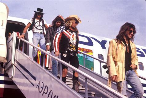 on tour with bon jovi in the 1980s flashbak