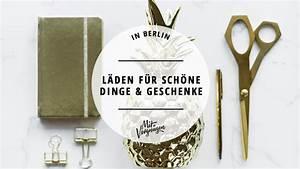 Boutiquen In Berlin : 11 l den und boutiquen in denen ihr tolle dinge geschenke findet mit vergn gen berlin ~ Markanthonyermac.com Haus und Dekorationen