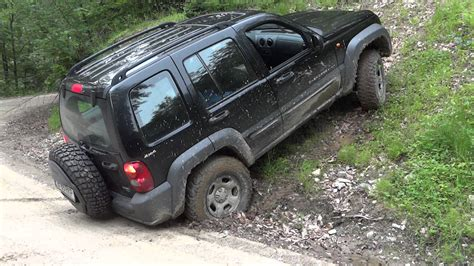 offroad jeep liberty jeep liberty kj off road in may 2012 youtube