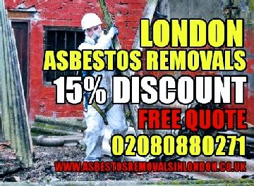 england greater london asbestos removal london