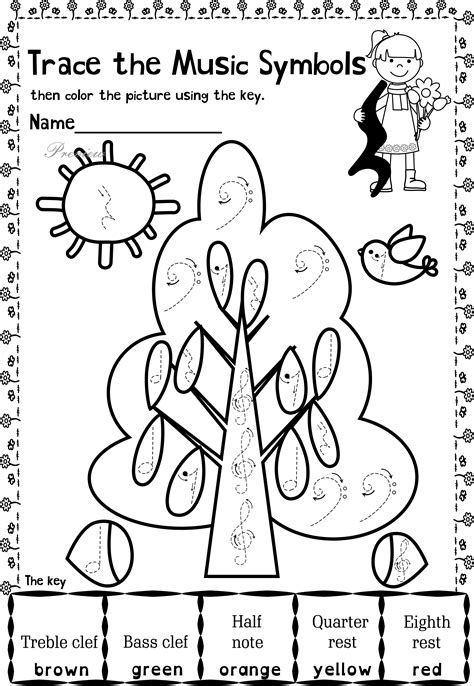 Music Notes Coloring Pages Collection  Free Coloring Books