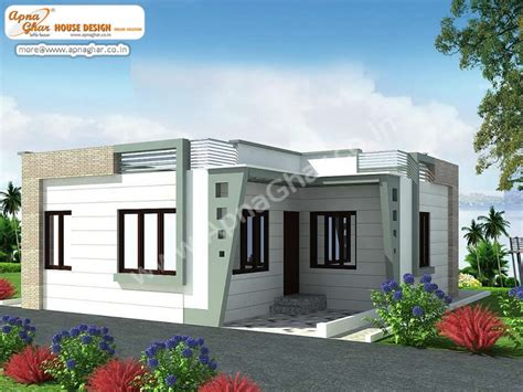 Small Single Floor House Elevation Design Single Floor