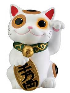 japanese lucky cat maneki neko money lucky cat japanese statue figure