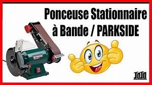 Ponceuse à Bande Stationnaire : ponceuse stationnaire bande parkside lidl youtube ~ Premium-room.com Idées de Décoration