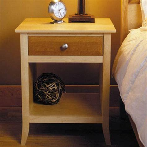 Nightstand Plans Free by Wood Magazine Downloadable Woodworking Project Plan To