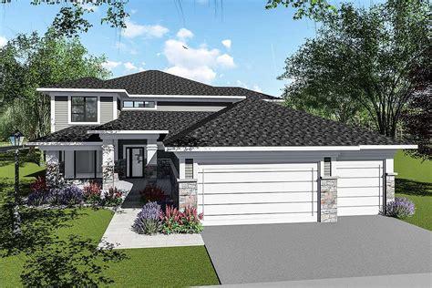 story prairie style house plan ah