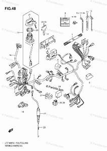 Suzuki Atv 2011 Oem Parts Diagram For Wiring Harness  Lt