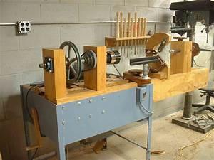 homemade wood lathe tools