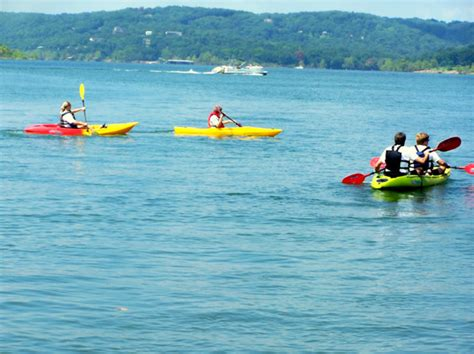 Table Rock Lake Canoe Rentals by Kayaking In Branson The Up And Personal Lake