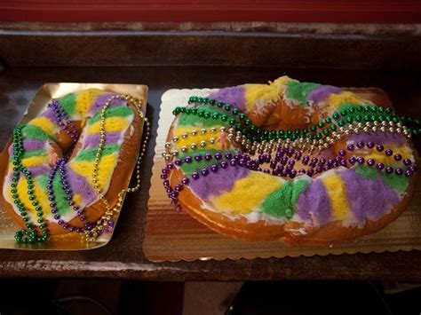 celebrate mardi gras  king cake