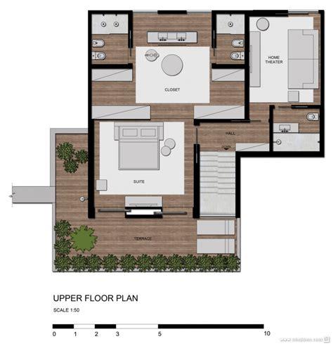 巴西清爽复式公寓设计平面图2 设计本装修效果图