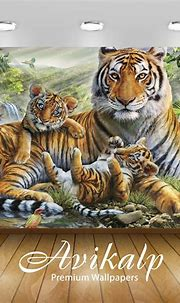 Avikalp Exclusive Awi2746 Jungle Animal Tiger With Her ...