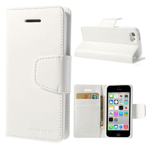 iphone 5c wallet apple iphone 5c white goospery sonata wallet