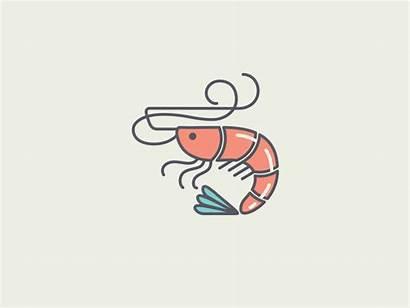 Shrimp Cartoon Shrimpy Icon Dribbble Prawn Wimpy