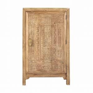 Maison Du Monde Armoire : armoire en manguier massif l 74 cm benares maisons du monde ~ Melissatoandfro.com Idées de Décoration