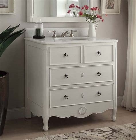 34 inch vanities for bathrooms chans furniture hf081aw daleville 34 inch antigue white