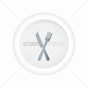 Fork and knife icon Vector Image - 1814735 | StockUnlimited