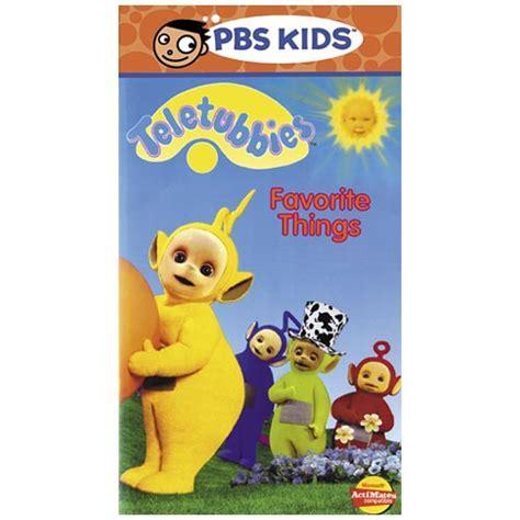 PBS Kids Teletubbies Favorite Things VHS Video 1 Hr