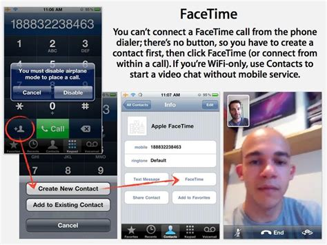 Apple's Iphone 4 Facetime Doesn't Need A Mobile Signal To Work