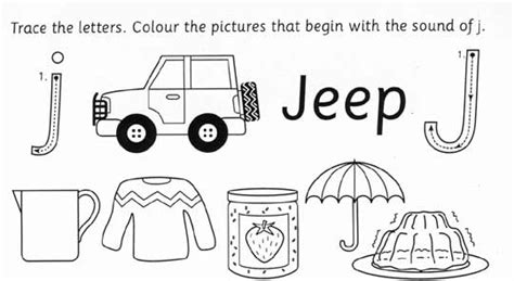 words with letter j adjectives that start with the letter j letter template 25757