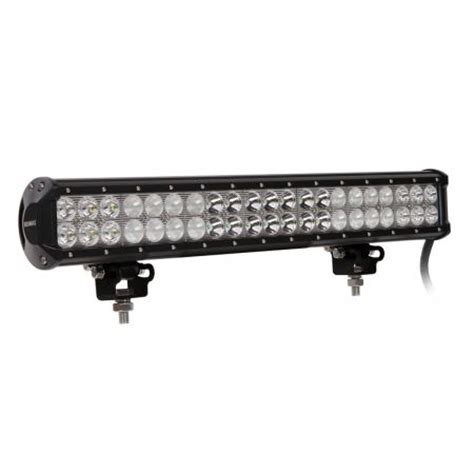 20 inch cree led light bar work l spot flood 126w