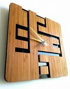 Wanduhren Modern Design : 110 wanduhren mit attraktivem design ~ Michelbontemps.com Haus und Dekorationen