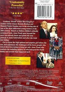 Anne Frank (DVD 2001) | DVD Empire