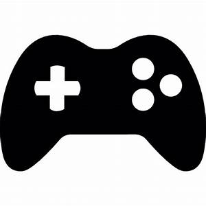 Gamepad with 3 buttons Icons Free Download