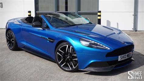Collecting My Aston Martin Vanquish Volante